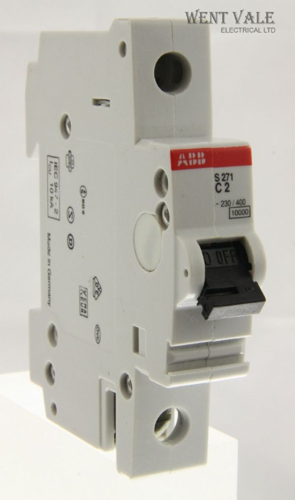 ABB - S271 - 2a Type C Single Pole MCB